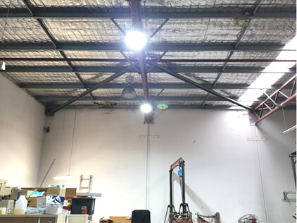 Australia Factory Workshop High Bay Light Project