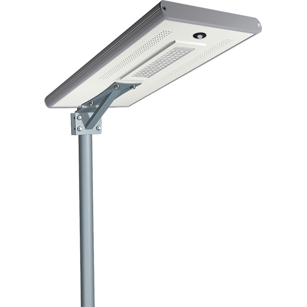 Solar Pole Lights 30W  - 3500 Lumens High-end Integrated Solar Post Lighting System
