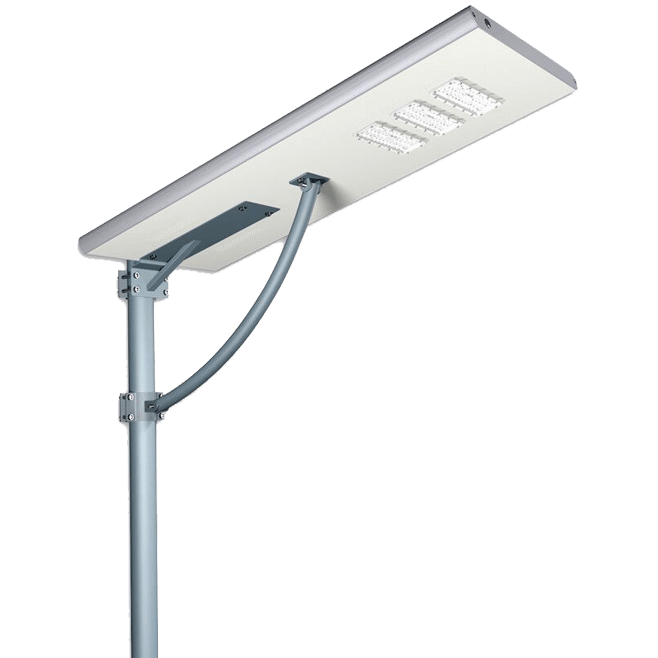 90W All in One Solar Street Lighting System,IP65 Waterproof PIR Motion Sensor Pathway Light