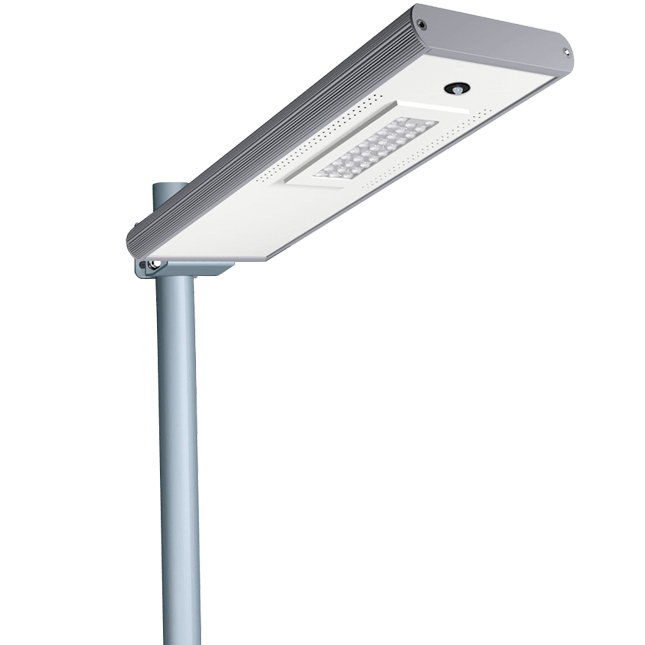Solar LED Street Lights 15W - 1800LM Integraded LED Street Lights with Smart Control and Motion Sensor
