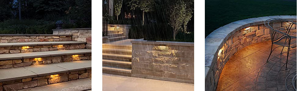 12 Inch LED Outdoor Step Lights apllication