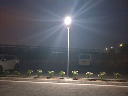 20W Solar Parking Lot Lights in Cyprus