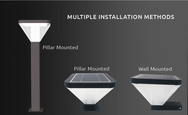 3 installation methods