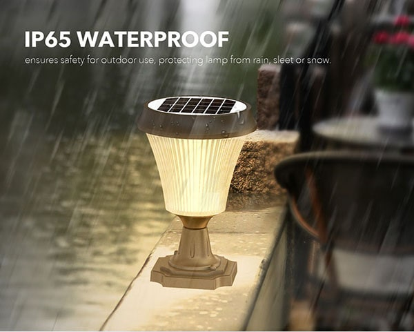 IP65 Waterproof for POST Lights