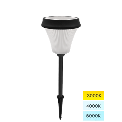 Solar Path Lights Dove Series, Aluminum Round Shape Solar Landscape Lights for Pathway & Walkway