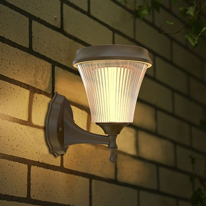 Dove Series Solar Outdoor Wall Lights