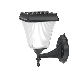 Solar Lights Outdoor Decorative - Fane Series Solar Wall Sconce Security Lights