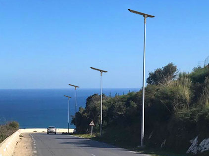 60W All In One Solar Street Light Project In Austria