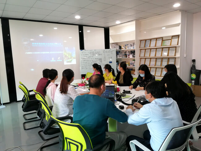 Goldsuno held its first solar lighting technical training of 2020
