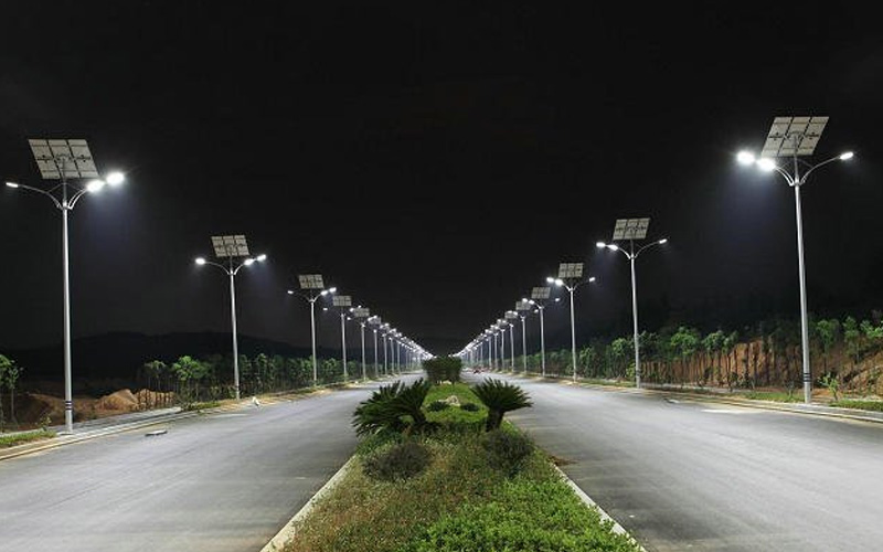 solar street lamp solar lighting