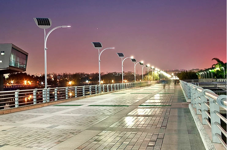 Why should we install solar street lights in rural areas