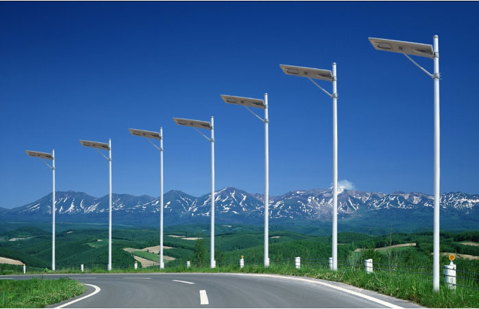 solar street lights,solar led steet lighting system