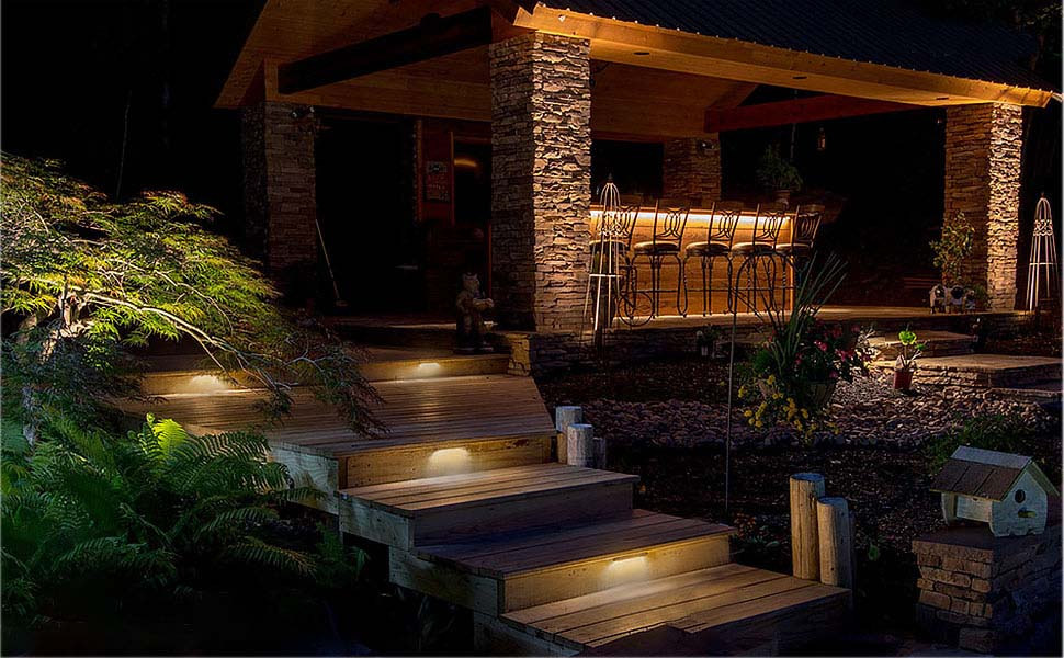 12 Inch LED Outdoor Step Lights Features
