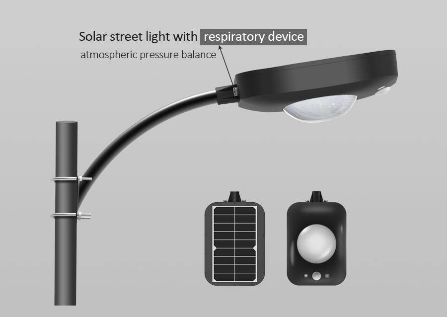 An Innovative Design Solar Street Light First Using Respiratory Device