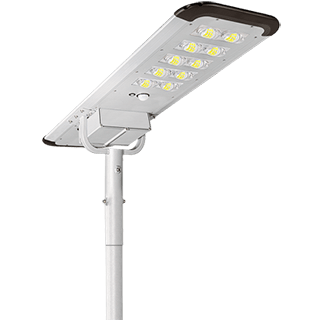 100W Integrated Solar Street Lights, 100w Solar Power Street Lights With Monocrystalline Solar panel and Lithium Battery