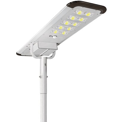 All In One Solar Outdoor Lighting 100w Solar Power Street Lights With Monocrystalline Solar panel and Lithium Battery