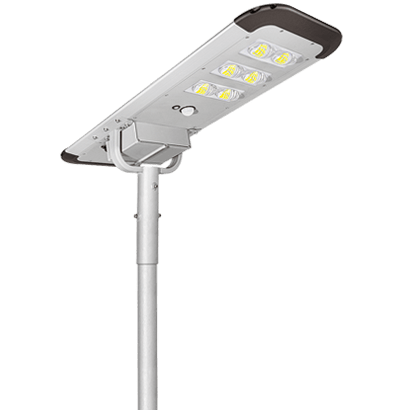 6500 Lumens 60W Integrated Solar Panel Street Lights Dusk to Dawn with Motion Sensor