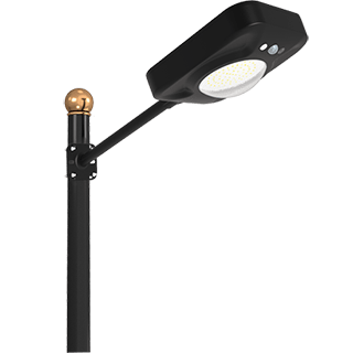 20W Solar Induction Street Light, Remote Control High Lumen 20W All In One Solar Street Lights Dusk to Dawn with Motion Sensor