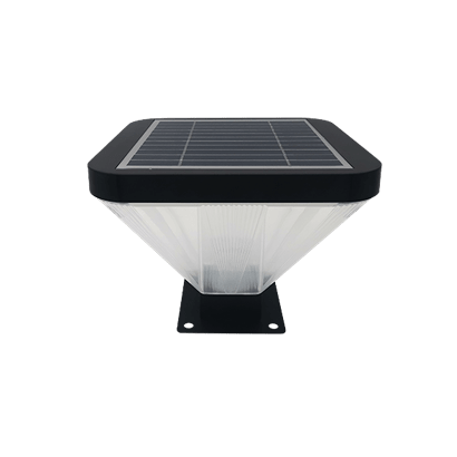 5W Outdoor IP65 Waterproof Solar Gate Post Pillar Lights for Pathway Garden Patio Yard Landscape Decoration