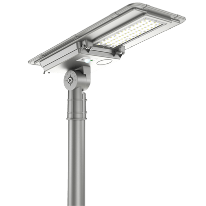 25W All In One Solar Powered Street Lights Dusk to Dawn with Motion Sensor